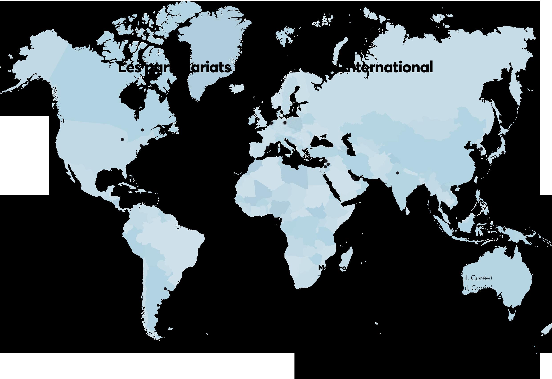 Les partenariats de Paris&Co à l'international