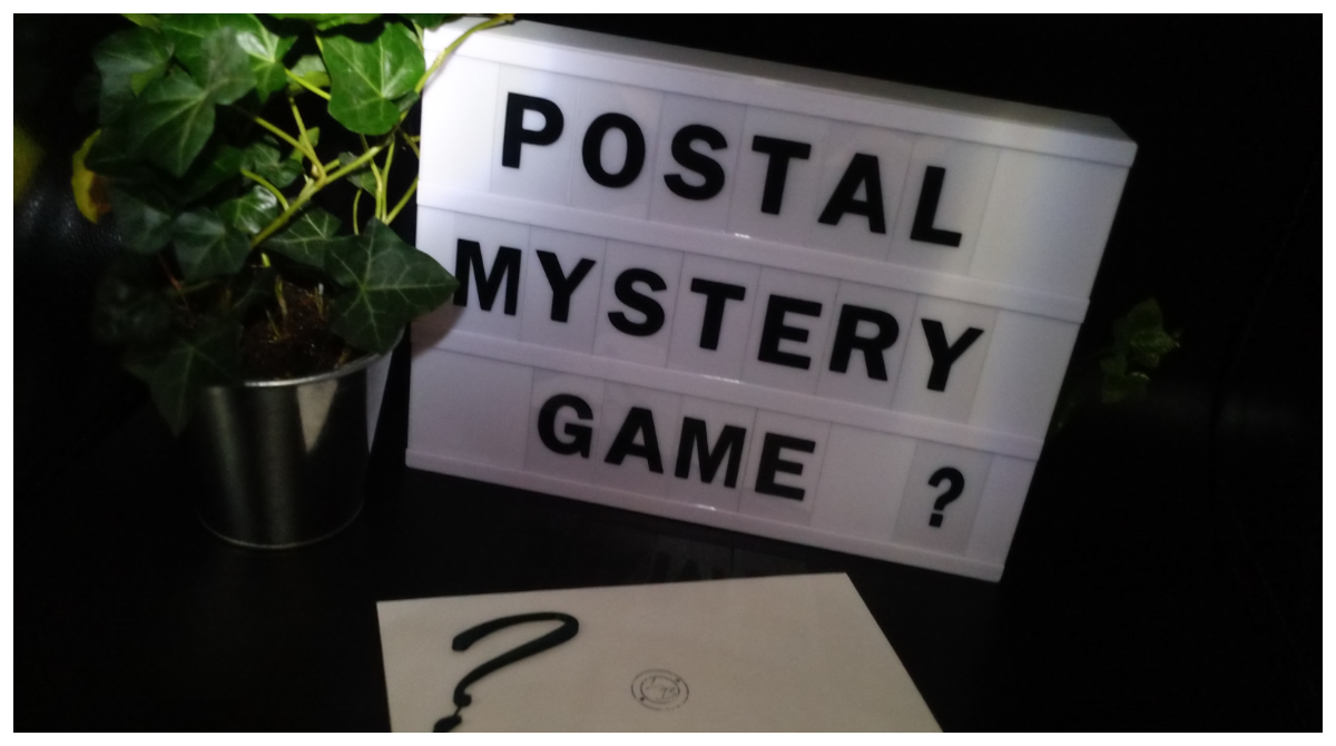 postal mystery game