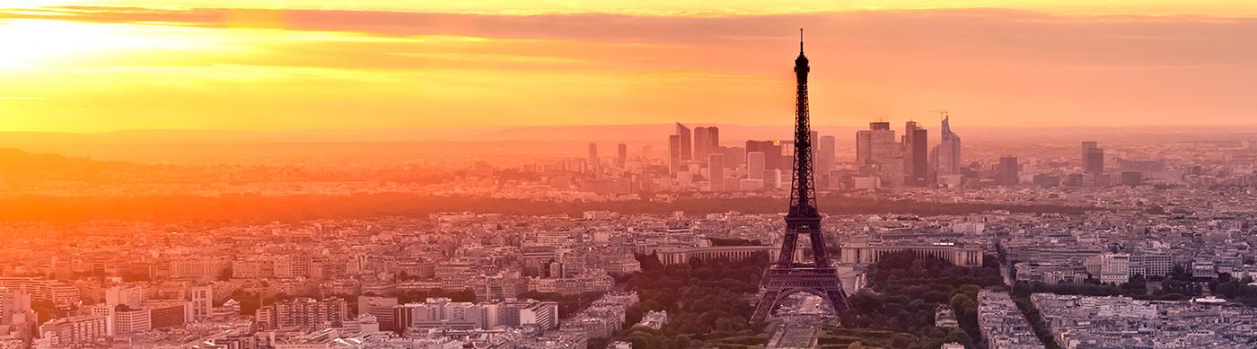 Couché de soleil à Paris
