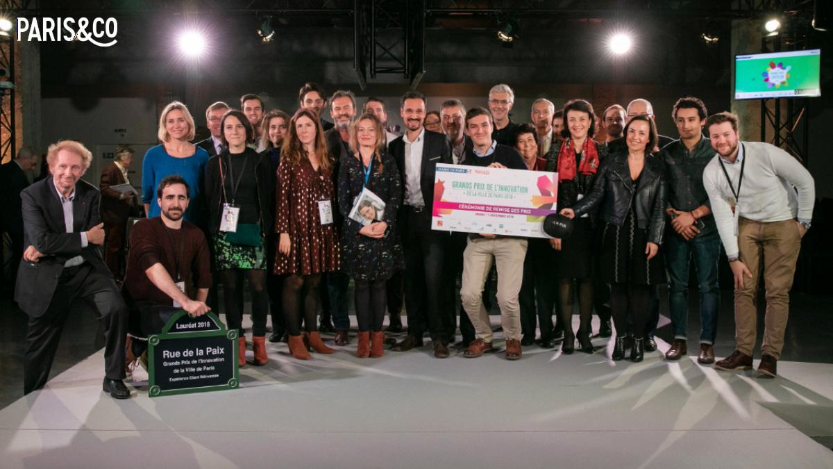Lauréats des Grands Prix de l'Innovation 2018